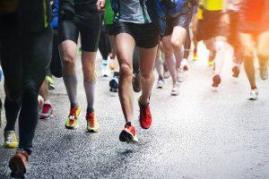 Avaliação do pé para corridas