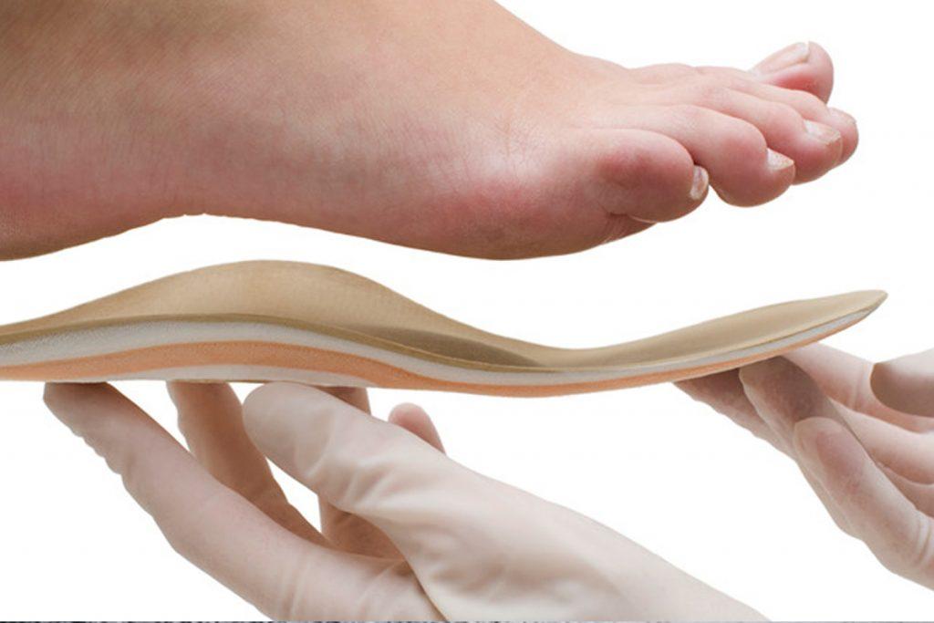 Palmilhas posturais (proprioceptivas)